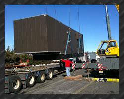 heavy rigging, crane and trucking service